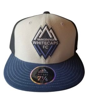 Adidas Vancouver Whitecaps FC Fitted Cap NWT